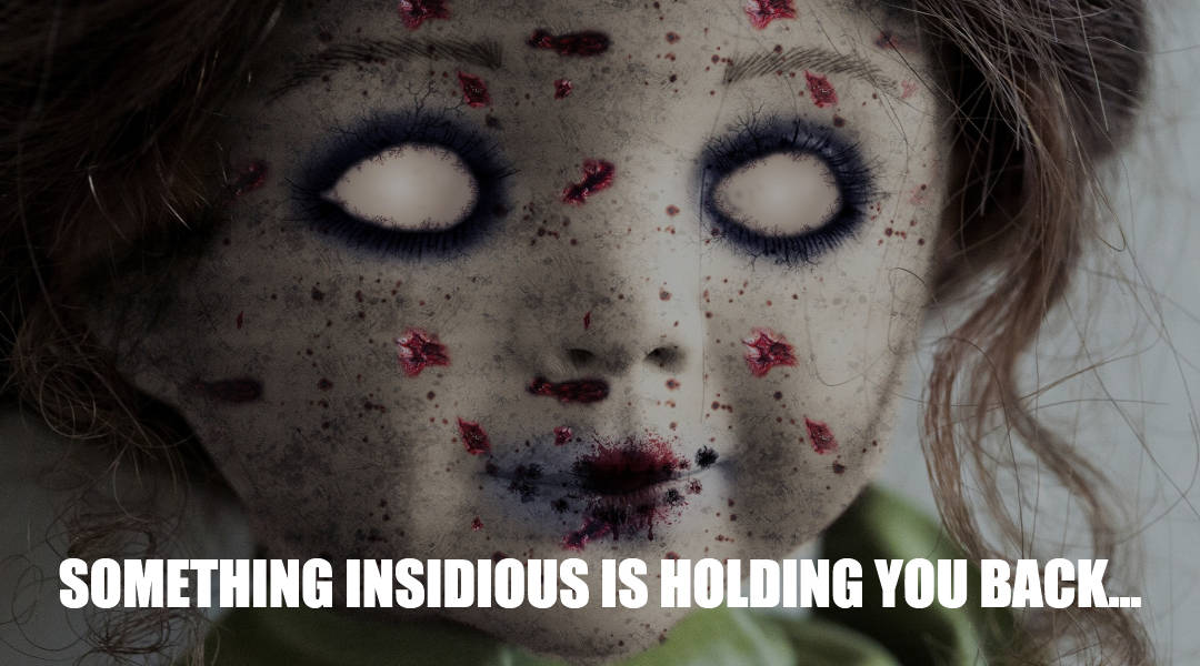 something insidious is holding your back